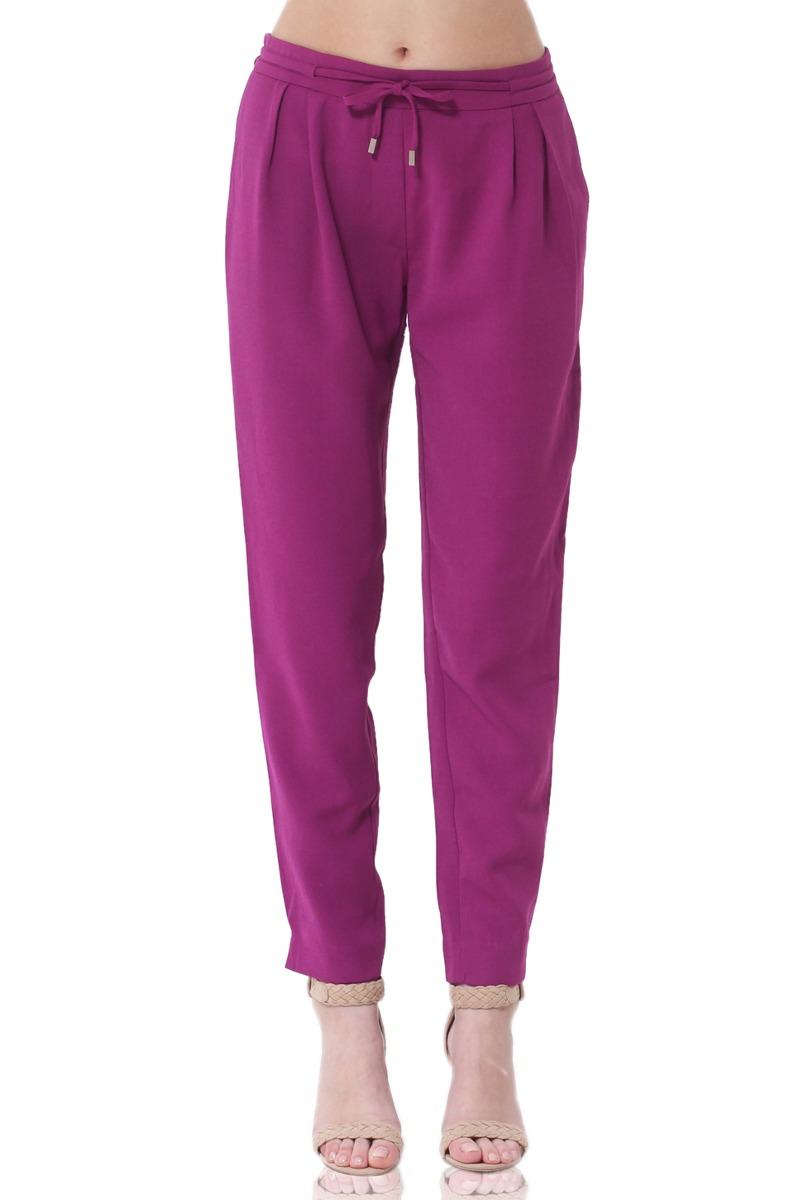 Pantalón Baggy De Mujer Aishop Af173-1110-504 Púrpura - S  214 ddfc50cde150