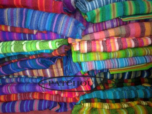 pantalón bali aguayo rayado multicolor unisex original c.fed