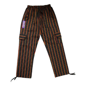 Pantalón Bali Rayado Artesanal Multicolor Unisex Adultos