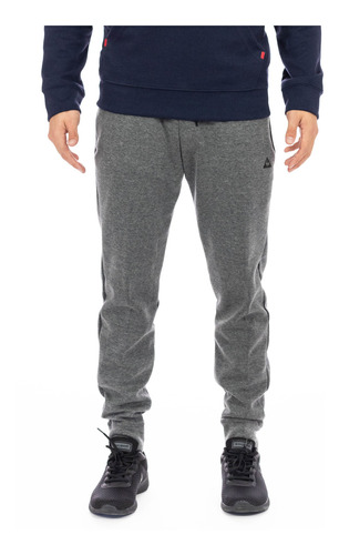 pantalón basic chronic slim gris claro hombre le coq sportif