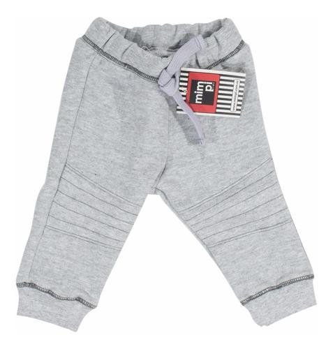 pantalón bebe jogging friza c/ recorte rodilla regalosdemama