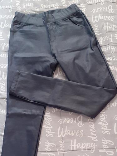 pantalon bengalina engomado azul