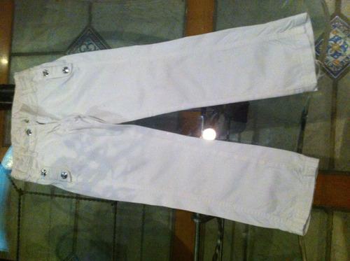 pantalon blanco dior niña