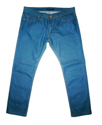 pantalon blue jean tommy hilfiger talla 38 azul petroleo