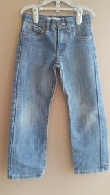 60187278db Pantalón Blue Jeans Levis 514 Original Para Niño Talla 6