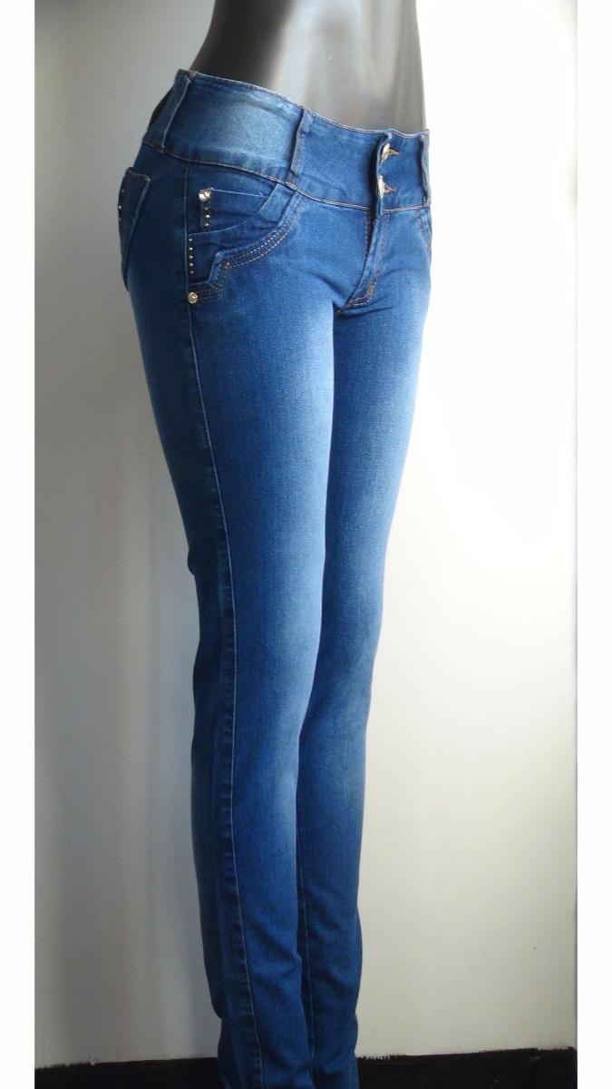3ab1a3dabae1f Pantalon Blue Jeans Para Dama