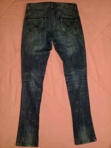 pantalon blue jeans para dama talla 3