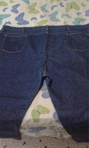 pantalón blue jeans rustler para caballeros talla 50x30