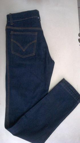pantalon blue jeans tres costuras dama y caballero 14 onzas