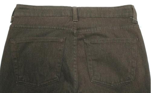 pantalón boot cut gap café - fashionella - 26 (6) t9y5