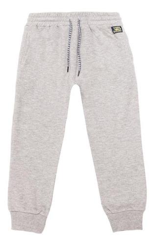 pantalon buzo louis gris 4kids
