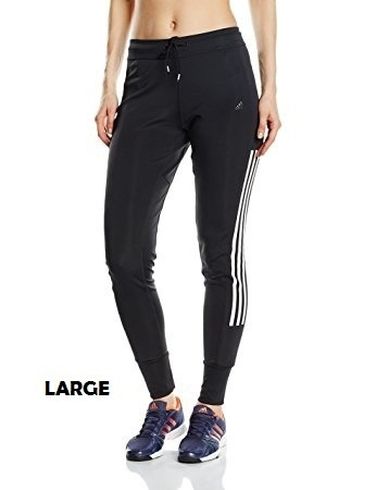 Pantalón Buzo Marca adidas Mujer Gym Cuffed Com