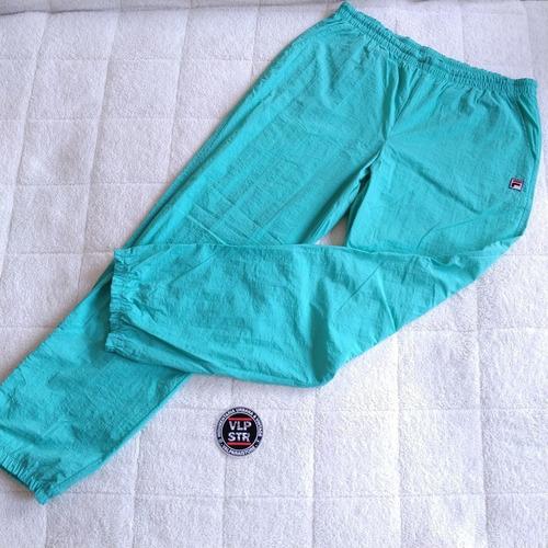 pantalón buzo vintage fila sport, talla 48 (hombre)