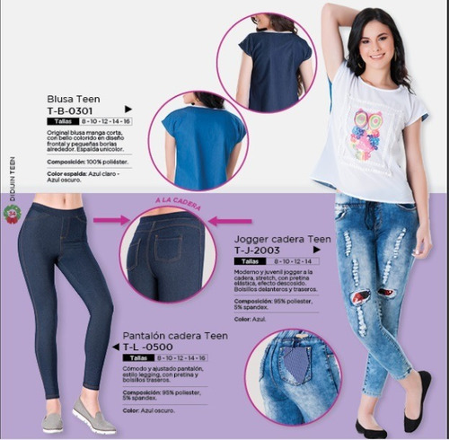 pantalon cadera teen estilo ultima moda fashion con parches