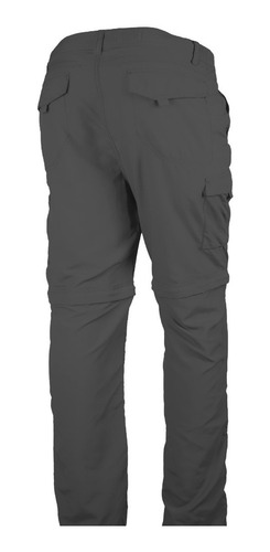 pantalón caminatas desmontable negro