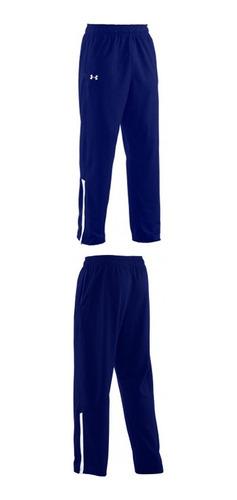 pantalon campus color azul talle m hombre under armour