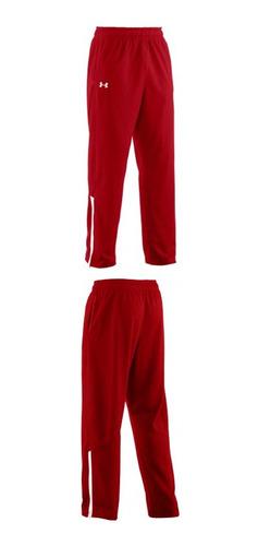 pantalon campus color rojo talle m hombre under armour