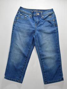 0833f3f0d6 Pantalon Capri Jeans Para Niña Justice Talla 10 Años