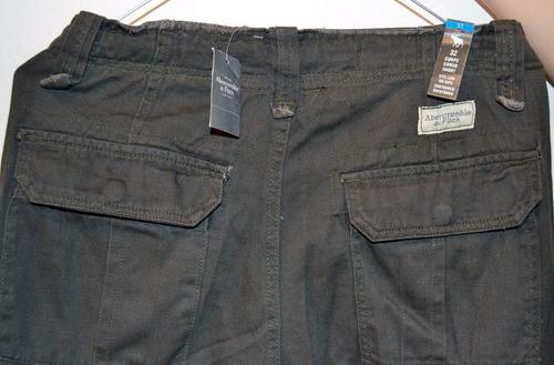 Abercrombie & Fitch Pantalon Cargo