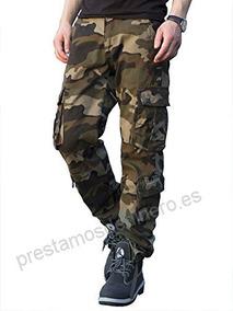 precio sensación cómoda bonita y colorida Pantalón Cargo Camuflado Verde Selva Gabard Reforzado C Puño