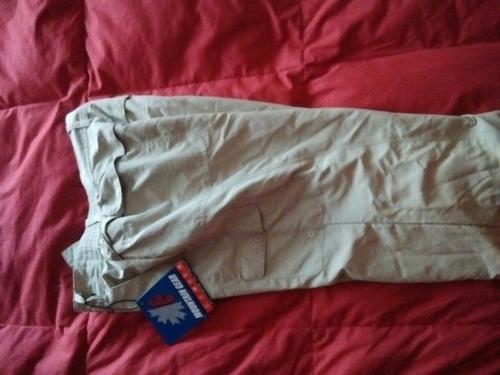 pantalón cargo columbia