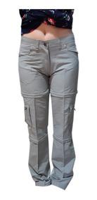 Desmontable Mujer Cargo Short Pantalon Bermuda Dama Trekking H2IEWD9