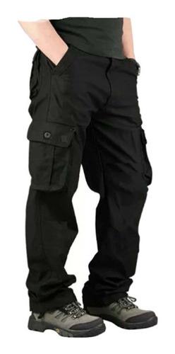 pantalon cargo gabardina triplecostura reforzado hard work