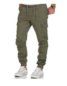 8cdd8eabcc Pantalon Cargo Chupin Hombres - Pantalones de Hombre en Mercado ...