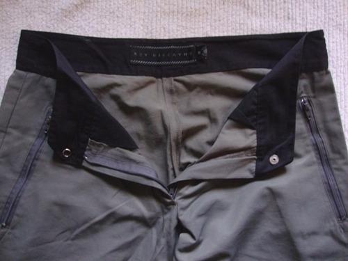 pantalon cargo key biscayne, talle m, tela avion,como nuevo