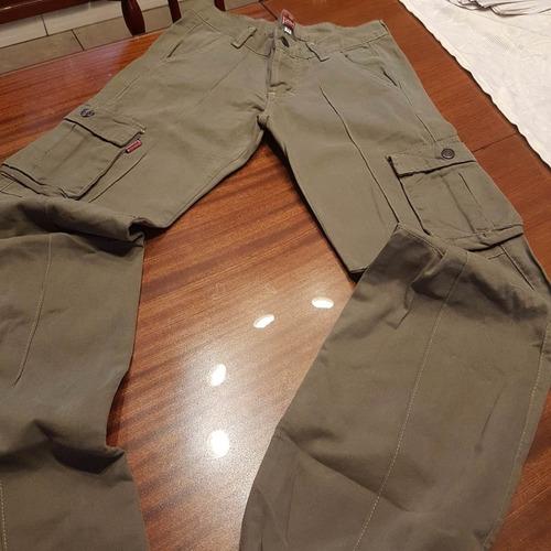 pantalon cargo law talle xs
