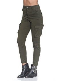 Pantalon Cargo Mujer