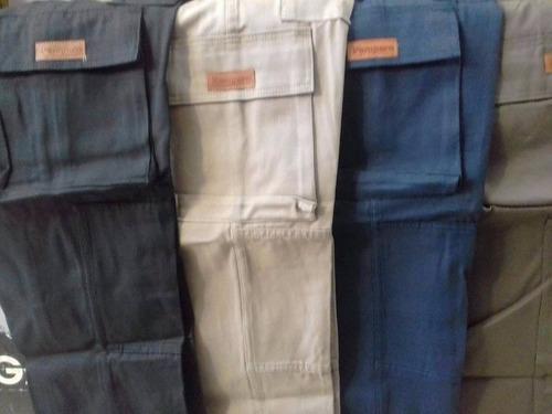 pantalón cargo pampero reforzado - envíos al interior