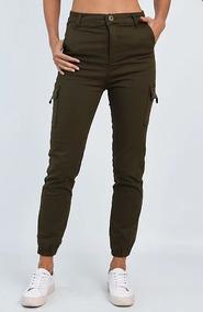 zara pantalones mujer militares