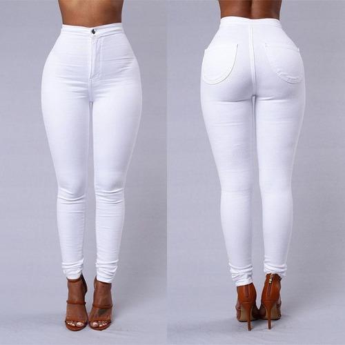 pantalón casual cintura alta para dama (por encargue)