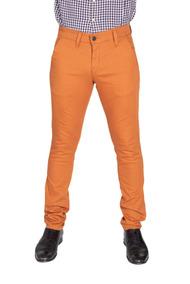 mejor servicio 38bf7 9f373 Pantalón Casual De Vestir Skinny Chedrón Hombre Descuento