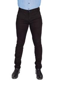 Vestir Para Negro Hombre De Descuento Pantalón Casual Skinny PNkw8OXn0