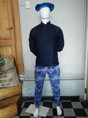 pantalón chef chupin