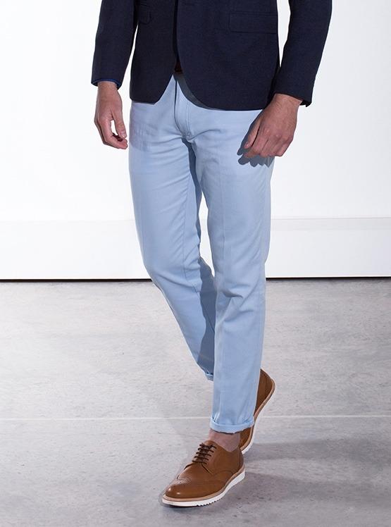 78b38c8c52 Pantalón Chino Azul Cielo Galo Bertin -   900.00 en Mercado Libre
