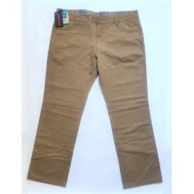 Pantalon Chino Casual Clasico Recto Algodon Hummer Talle 48