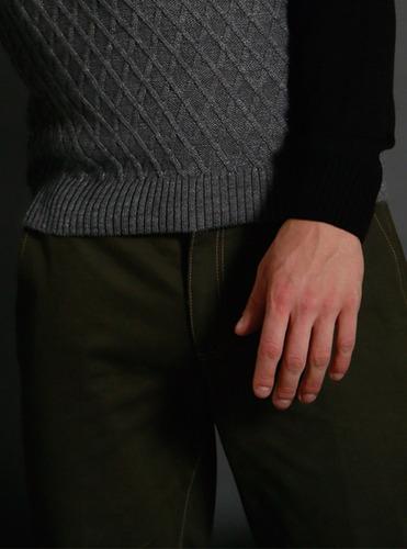 pantalón chino olivo galo bertin