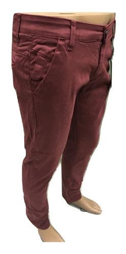 pantalon chupin algodon hombre