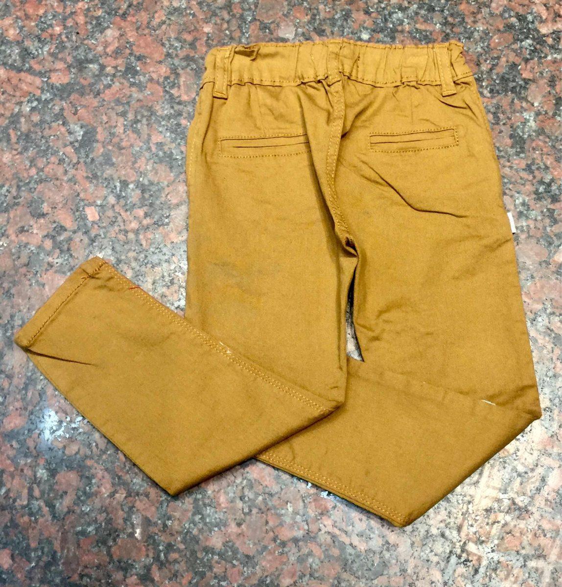 285230d41 pantalón chupin bolsillo chino gabardina elastizado de bebé. Cargando zoom.
