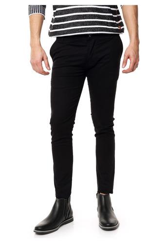 pantalón chupin de gabardina elastizada varios colores!!!