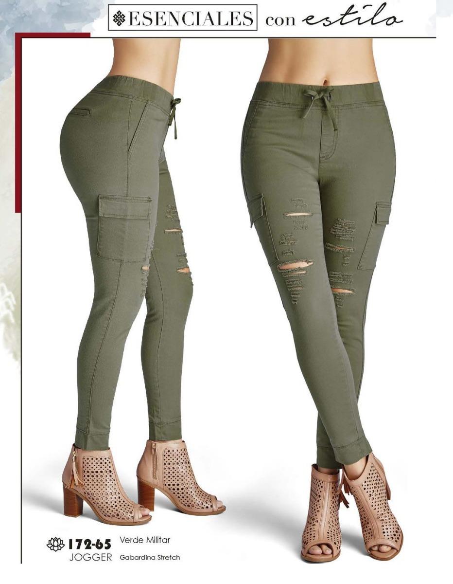 diseño de calidad da1a6 f0189 Pantalon Cklass Verde Militar 172-65 Otoño Iniverno 2017