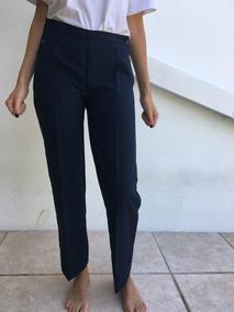 Pantalon De Cuero Mujer Pantalones Vestir Tiro Alto