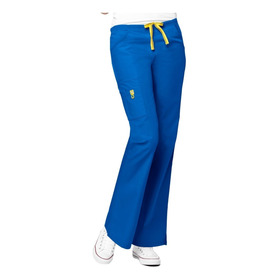 Pantalón Clínico Tens Mujer Azul Rey  (5026a)