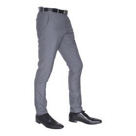 Pantalón Colegial  Chupin De Alpaca Con Spandex Jean Cartier