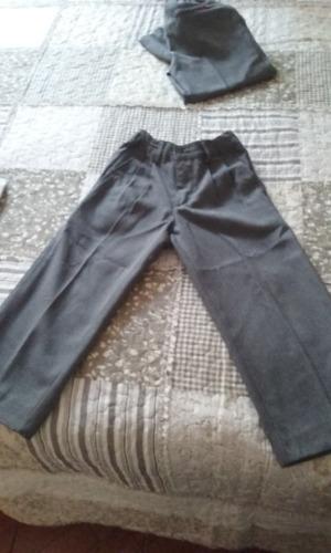 pantalon colegio gris niño talla 4