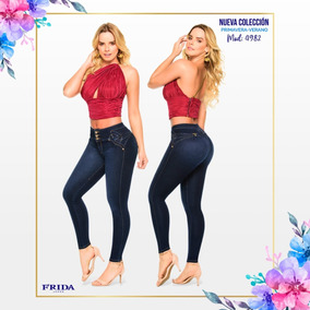 e29f9a4291 Pantalones Frida Mayoreo - Pantalones y Jeans de Mujer Azul en ...