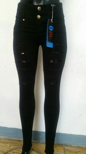 pantalon colombiano push up! blue lips jeans tu segunda piel